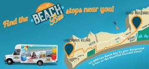All Aboard the Beach Bus!