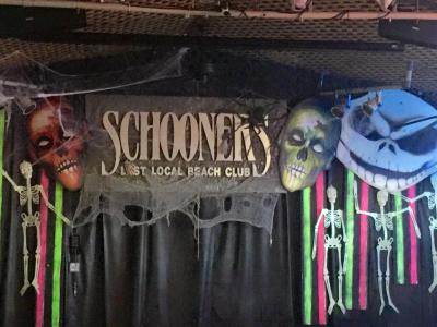 Schooners Halloween Party in PCB