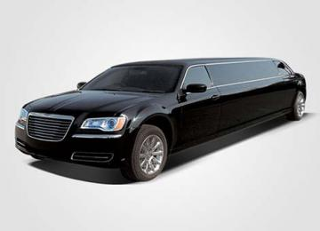 Chrysler 300 Stretch Limo Black