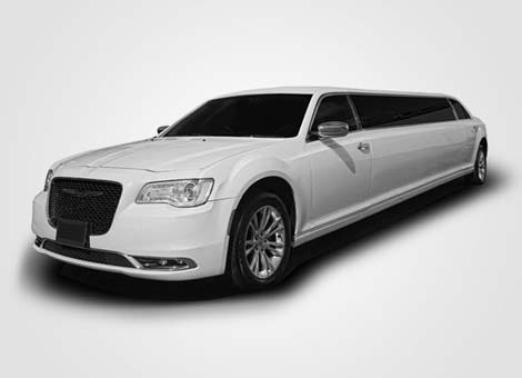 Chrysler 300 Stretch Limo White
